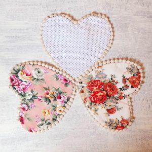 Heart Bibs (reversible)