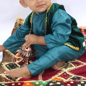 Baby Aladdin Bubblegum Blue