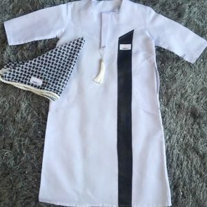Boys Kurta with Stripe detail
