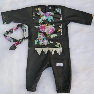 Flower Ranger Abaya Romper