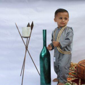 Baby Aladdin Kurta Romper